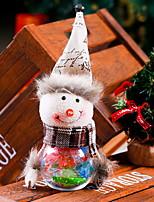 abordables -Ornements Noël Tissu / Plastique / PVC Jouet de bande dessinée Décoration de Noël