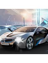 Недорогие -Машинка на радиоуправлении Rastar 49600 10.2 CM Инфракрасный Автомобиль 1:14 8.2 km/h КМ / Ч Подсветка / На пульте управления / Светящийся