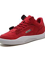 Недорогие -Муж. Комфортная обувь Полиуретан Осень На каждый день Кеды Дышащий Черный / Серый / Красный