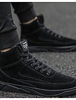 Недорогие -Муж. Комфортная обувь Микроволокно Осень На каждый день Кеды Черный / Серый / Желтый