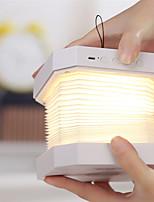 Недорогие -1шт Книга LED Night Light / Умный ночной свет Теплый белый + белый USB Bluetooth / Перезаряжаемый / Диммируемая 5 V