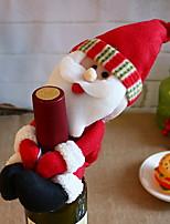 abordables -Décorations de Noël Noël / Vacances Tissu en Coton cube Nouveautés Décoration de Noël