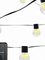 Недорогие -3.5м Гирлянды 10 светодиоды Тёплый белый / Белый Декоративная / Cool Аккумуляторы AA