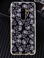 cheap -Case For Samsung Galaxy J6 / J4 Ultra-thin / Transparent / Pattern Back Cover Skull Soft TPU for J8 / J7 (2017) / J6