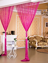 cheap -Door Panel Curtains Drapes Entry & Mudroom Contemporary Polyester Reactive Print