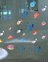 Недорогие -Оконная пленка и наклейки Украшение Современный / Обычные Простой ПВХ Водоотталкивающие / Cool