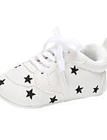 Недорогие -Девочки Обувь Полиуретан Наступила зима Удобная обувь / Обувь для малышей На плокой подошве Шнуровка для Серебряный / Розовый / Светло-Розовый