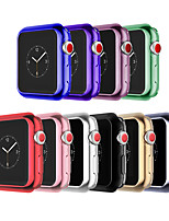 abordables -Coque Pour Apple Apple Watch Series 4/3/2/1 Silicone Apple