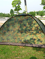 cheap -Jungle King 2 person Family Tent Camping Tent  Outdoor Lightweight 1000-1500 mm  for Beach Nylon 200*150*110 cm