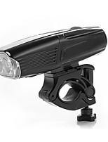 baratos -luzes do fulgor da bicicleta LED duplo Luzes de Bicicleta Ciclismo Impermeável, Profissional, Legal 18650.0 1000 lm Carregamento Rápido / 18355 Branco Campismo / Escursão / Espeleologismo / Ciclismo
