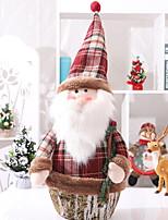 Недорогие -Рождественские украшения Новогодняя тематика пластик Квадратный Оригинальные Рождественские украшения