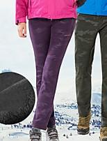 abordables -Femme Pantalons de Ski Pare-vent, Etanche, Garder au chaud Ski / Camping / Randonnée / Snowboard Polyester, Elasthanne Pantalon / Surpantalon Tenue de Ski