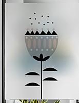 billiga -Fönsterfilm och klistermärken Dekoration Vanlig Figur pvc Ny Design / Häftig