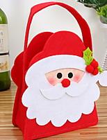 Недорогие -Рождественские украшения Ткань куб Мультипликация / Оригинальные Рождественские украшения