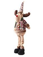 baratos -Ornamentos Natal Tecido Brinquedo dos desenhos animados Decoração de Natal