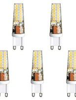 baratos -5pçs 3 W 300 lm G9 Luminárias de LED  Duplo-Pin T 28 Contas LED SMD 2835 Branco Quente / Branco 85-265 V