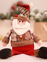 Недорогие -Рождественские украшения Новогодняя тематика Ткань Оригинальные Рождественские украшения