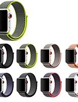 Недорогие -Ремешок для часов для Apple Watch Series 4/3/2/1 Apple Кожаный ремешок Нейлон Повязка на запястье