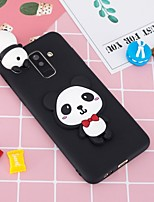 cheap -Case For Samsung Galaxy A8 Plus 2018 / A6+ (2018) Pattern / DIY Back Cover Panda Soft TPU for A5(2018) / A6 (2018) / A6+ (2018)