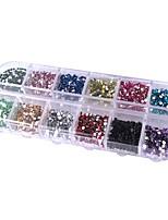 Недорогие -1 pcs Кристаллы Лучшее качество мини маникюр Маникюр педикюр Повседневные Классический