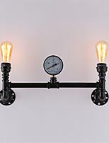 baratos -Clássica / Vintage Luminárias de parede Sala de Estar / Corredor Metal Luz de parede 110-120V / 220-240V 60 W