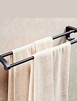 abordables -Barre porte-serviette Design nouveau Moderne Aluminium 1pc