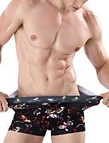 economico -Per uomo Boxer Tinta unita Vita bassa