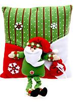 Недорогие -Рождественские украшения Хлопковая ткань куб Для вечеринок / Оригинальные Рождественские украшения