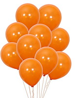 Недорогие -Праздничные украшения Украшения для Хэллоуина Хэллоуин Развлекательный Cool Оранжевый 100 шт