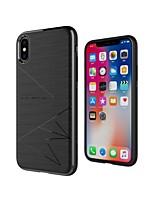 abordables -Coque Pour Apple iPhone X / iPhone XS Antichoc / Dépoli / Motif Coque Formes Géométriques Flexible TPU pour iPhone XS / iPhone X