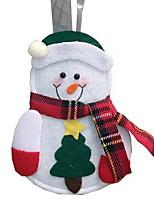 abordables -Manteaux Noël / Vacances Tissu en Coton Rectangulaire Soirée / Nouveautés Décoration de Noël