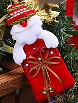 Недорогие -Хранение новогодних аксессуаров Новогодняя тематика Ткань Оригинальные Рождественские украшения