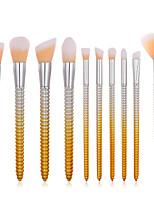 billiga -1 st Makeupborstar Professionell Rougeborste / Ögonskuggsborste / Läppensel Nylon fiber Fullständig Täckning Plast