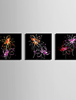 billige -Print Valset lærred Udskriv / Strukket Lærred Print - Abstrakt / Blomstret / Botanisk Moderne