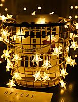 billiga -1set LED Night Light Varmvit AA Batterier Drivs För Barn / Kreativ / Dekorativ <5 V