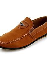 abordables -Homme Chaussures de confort Daim Automne Décontracté Mocassins et Chaussons+D6148 Preuve de l'usure Jaune / Bleu