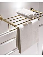 Недорогие -Держатель для полотенец Многослойный Modern Нержавеющая сталь 1шт Двуспальный комплект (Ш 200 x Д 200 см) На стену