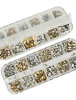 billiga -1 pcs Paljetter Bästa kvalitet Kreativ nagel konst manikyr Pedikyr Dagligen Stilig / Geometrisk