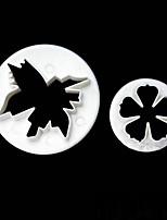 Недорогие -Инструменты для выпечки пластик Очаровательный Печенье / Для торта Формы для пирожных / Пивные инструменты 1шт