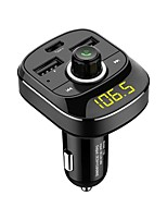 billiga -Factory OEM HY-T19 Bluetooth 4.1 Bluetooth-set för bilen Bil Handsfree Bluetooth / Mp3 / FM Transmitters Bilar