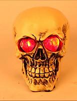Недорогие -Праздничные украшения Украшения для Хэллоуина Хэллоуин Развлекательный Cool Оранжевый 1шт