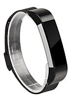 Недорогие -Ремешок для часов для Fitbit Alta Fitbit Миланский ремешок Нержавеющая сталь Повязка на запястье