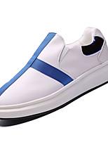 economico -Per uomo Scarpe comfort PU (Poliuretano) Autunno Casual Mocassini e Slip-Ons Antiscivolo Monocolore Rosso / Bianco / nero / White / Blue