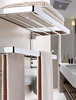 Недорогие -Держатель для полотенец Многослойный / Новый дизайн Современный Нержавеющая сталь / железо 1шт Двуспальный комплект (Ш 200 x Д 200 см) На стену