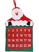 abordables -Ornements Noël Tissu / Plastique Rectangulaire Nouveautés Décoration de Noël