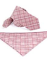 Недорогие -Универсальные Классический Платок / аскотский галстук Контрастных цветов / В клетку