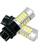 Недорогие -2pcs 3157 Автомобиль Лампы 27 W SMD 2835 2160 lm 54 Светодиодная лампа Внешние осветительные приборы Назначение Все года