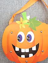 Недорогие -Праздничные украшения Украшения для Хэллоуина Хэллоуин Развлекательный / Декоративные объекты Декоративная / Cool Оранжевый 1шт