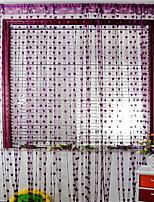 billiga -Door Panel gardiner draperier Entry & Mudroom Modernt Polyester Reaktiv Tryck