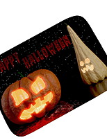 billiga -Dörrmatta Halloween Polyster, Fyrkantig Överlägsen kvalitet Matta